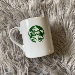 Starbucks White & Green Logo Coffee Mug